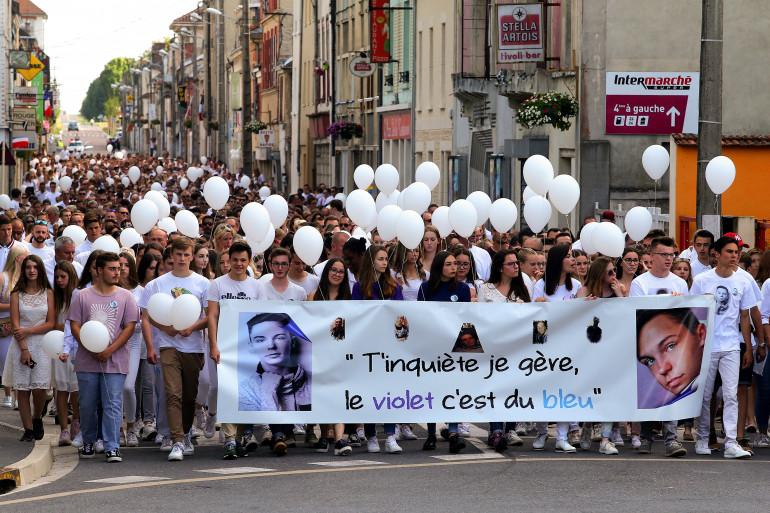 Une marche organisée en mémoire de Kevin Chavatte, poignardé à mort à 17 ans, début juin 2018