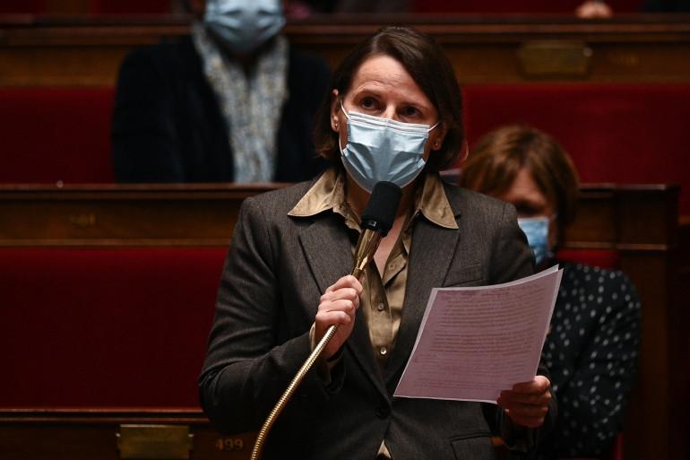 La députée Valérie Rabault le 20 octobre 2020 à l'Assemblée.