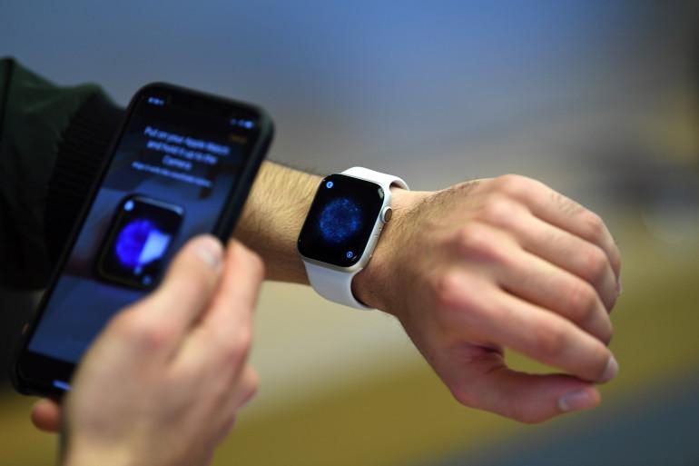 La montre connectée d'Apple est capable de mesurer la fréquence cardiaque depuis 2018