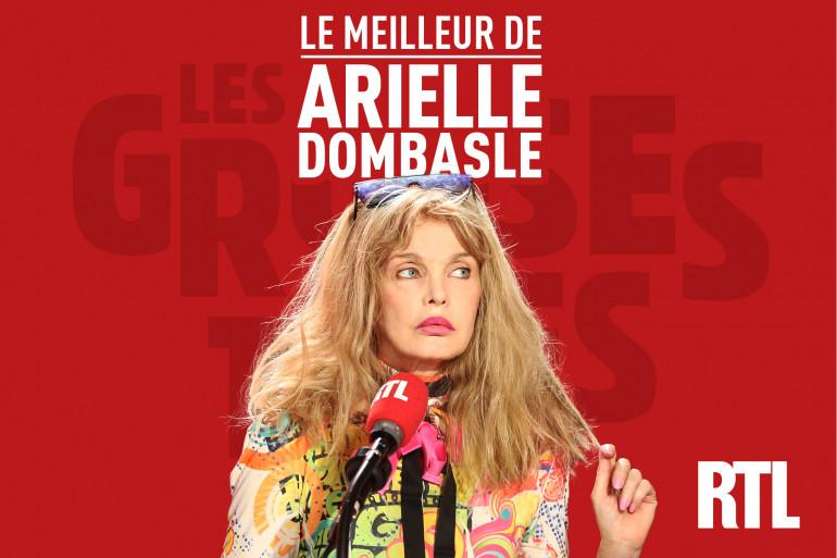 """Podcast - Le meilleur d'Arielle Dombasle dans """"Les Grosses Têtes"""""""