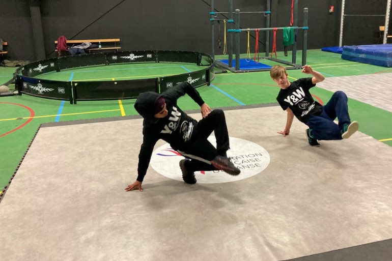 Le Breakdance est une danse de rue née aux États-Unis, et désormais discipline olympique.