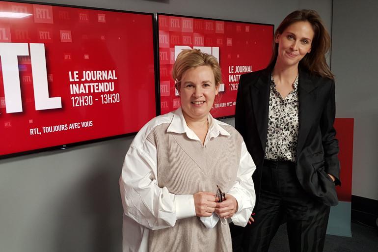 Hélène Darroze et Ophélie Meunier, le 23 janvier 2021 à RTL