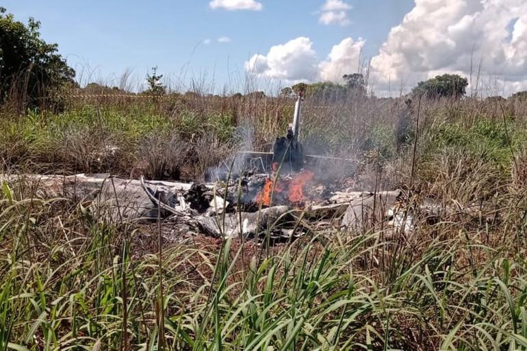 4 joueurs d'un club de 4e division brésilienne sont décédés après le crash de leur avion