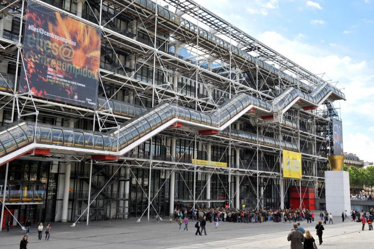 Le Centre Pompidou à Paris