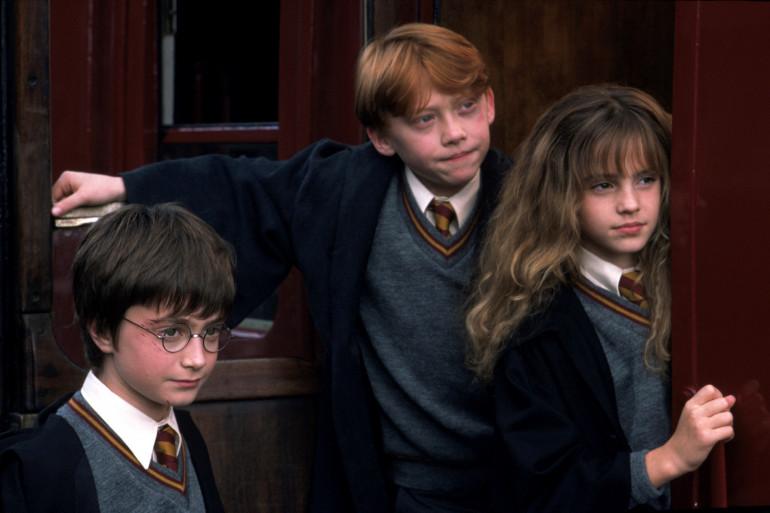 """Le trio des films """"Harry Potter"""" au cinéma"""