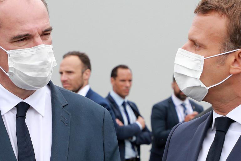 Jean Castex et Emmanuel Macron, le 14 juillet 2020