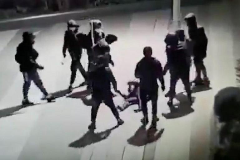 L'agression de Yuriy, le vendredi 15 janvier 2021, dans le quartier de Beaugrenelle, à Paris