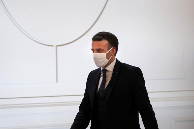 Emmanuel Macron, le 16 janvier 2021
