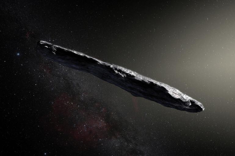 Le corps interstellaire Oumuamua en novembre 2017