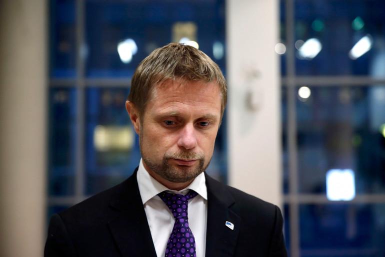 Le ministre de la Santé norvégien, Bent Høie