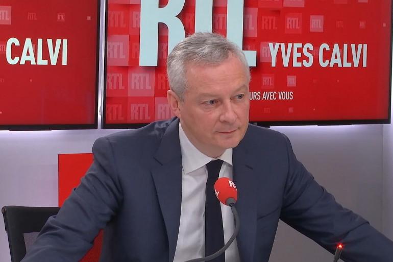 Bruno Le Maire était l'invité de RTL le 1er février 2021
