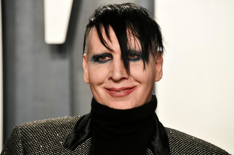 Marilyn Manson à la Vanity Fair Oscar Party 2020 le 9 février 2020 à Beverly Hills en Californie.