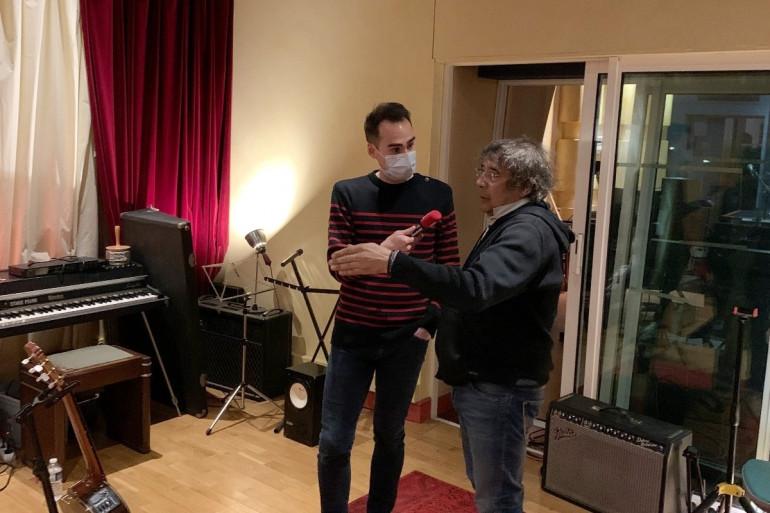 Laurent Voulzy nous fait découvrir son studio