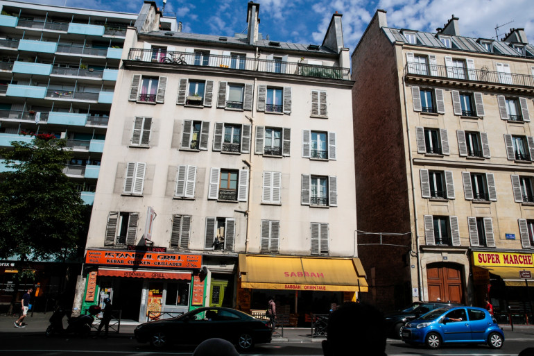 Des logements à Paris (illustration)