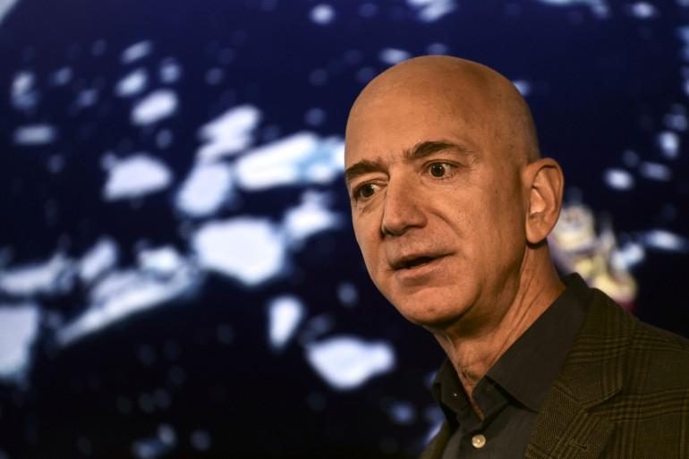 Jeff Bezos, directeur général d'Amazon.