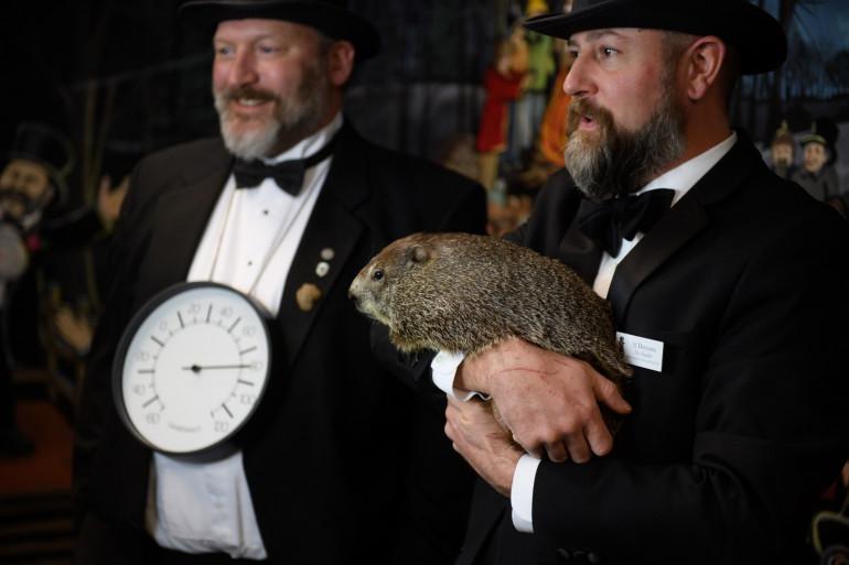 Comme chaque année, le Jour de la Marmotte a été célébré à Punxsutawney le 2 février.