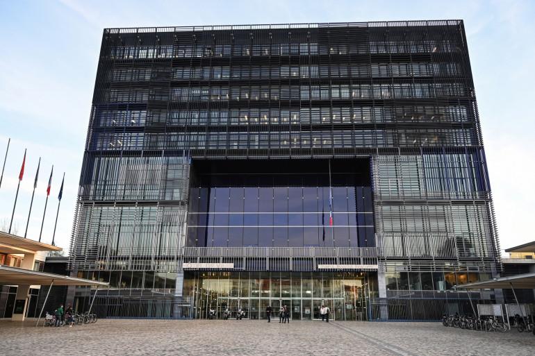 La mairie de Montpellier (illustration)
