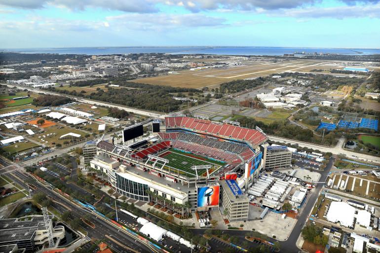 Le 55e Superbowl a lieu au stade de Tempa, en Floride, le 7 février 2021