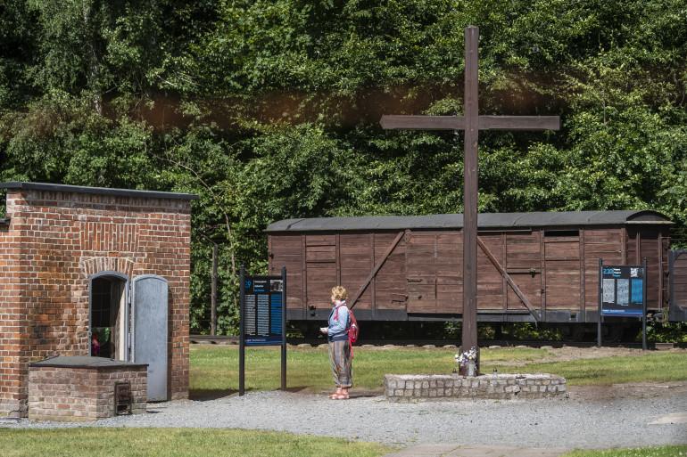 L'ancien camp de concentration de Stutthof, en Allemagne.