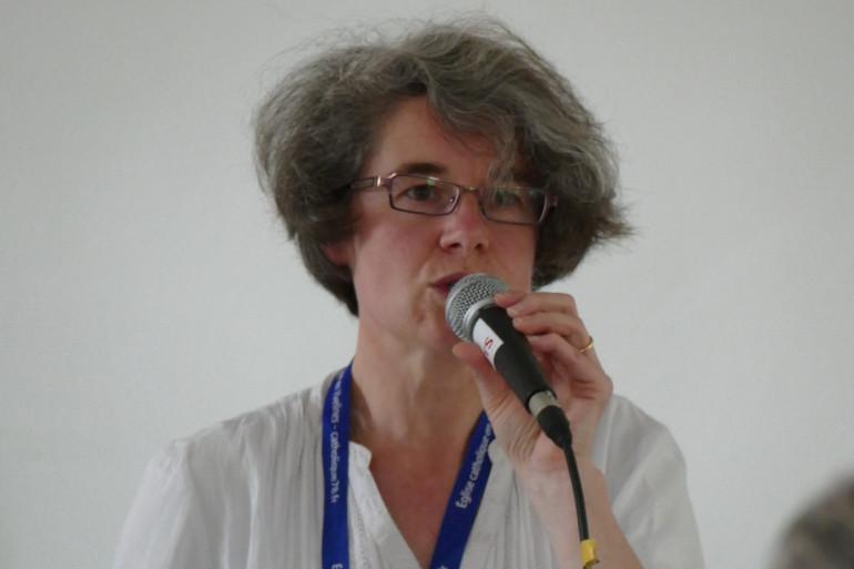 Nathalie Becquart a été nommée à un poste jusqu'ici toujours occupé par des hommes.