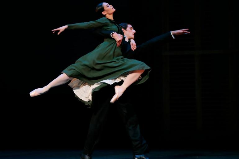 Alice Renavand et Vincent Chaillet à l'Opéra de Paris le 20 février 2014