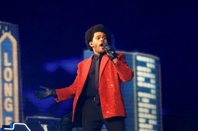 The Weeknd a chanté ses plus grands tubes à Tampa Bay.