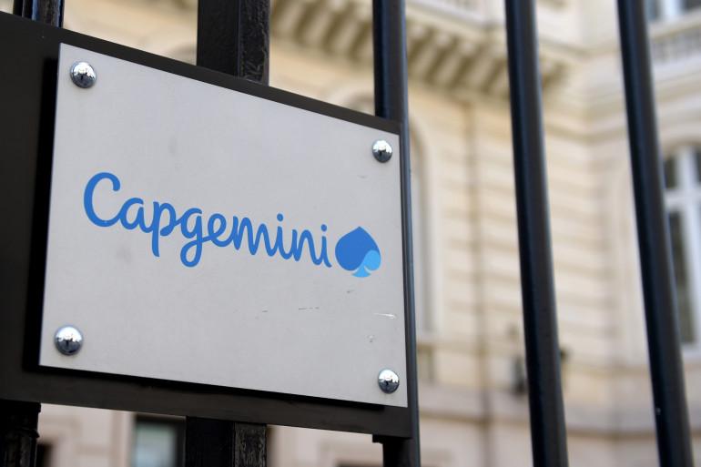 Le cabinet de conseils Capgemini à Paris (illustration)