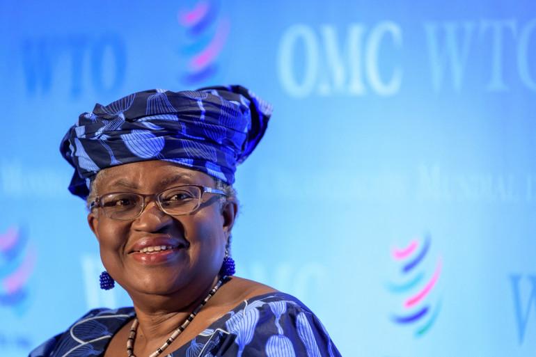 Le 15 juillet 2020, Ngozi Okonjo-Iweala était auditionnée par des représentants des 164 États membres de l'OMC dans le cadre de sa candidature pour prendre la tête de l'organisation.