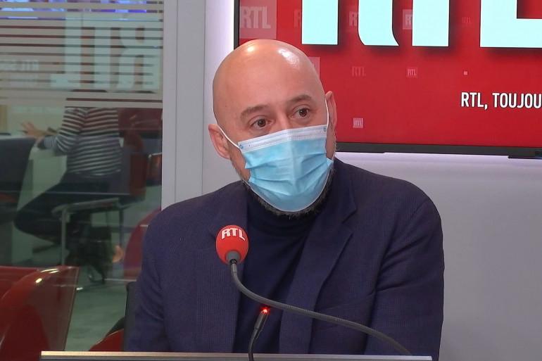 Laurent Combalbert, Ancien négociateur du Raid, dans RTL Soir le 9 février 2021