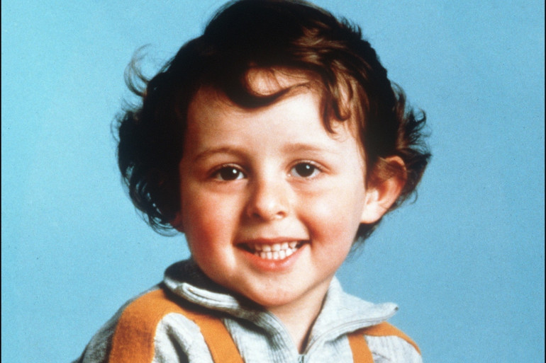 Photo non datée du petit Grégory Villemin, 4 ans, retrouvé noyé le 16 octobre 1984, pieds et poings liés dans la Vologne.