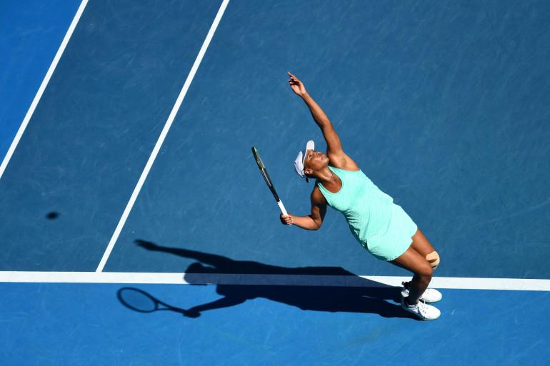 L'Américaine Venus Williams à Melbourne le 10 février 2021