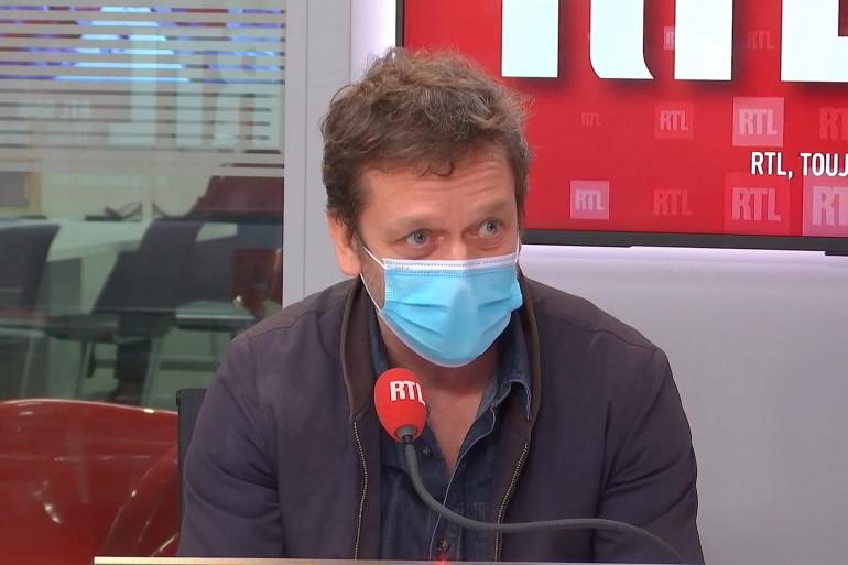 Jonathan Zaccaï, acteur, invité dans RTL Soir le 10 février 2021