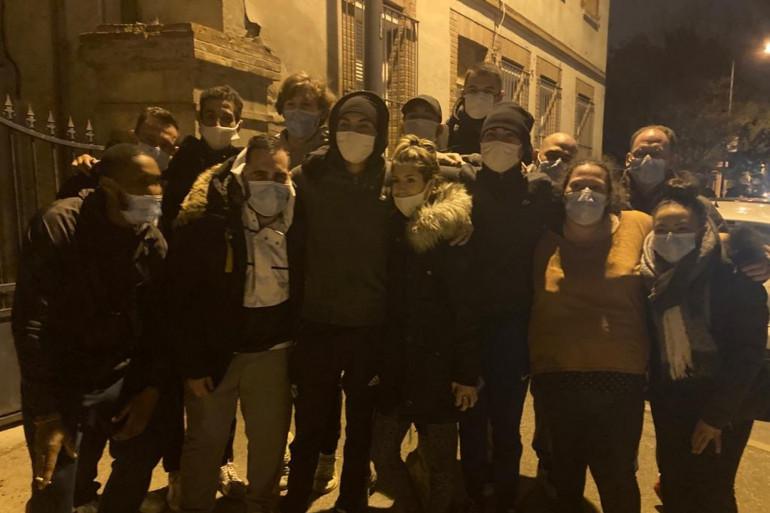 Des riverains qui ont aidé à faire partir les squatteurs de la maison de Roland à Toulouse