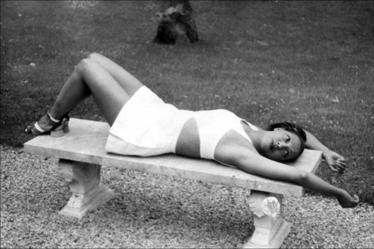 Josephine Baker, idole des années folles à Paris, dans les années 1920.