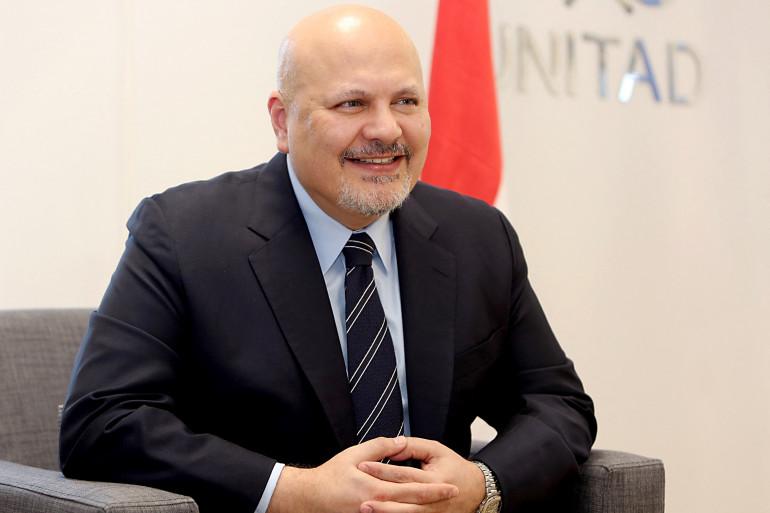 Karim Khan, nouveau procureur général de la CPI, succède à Fatou Bensouda.
