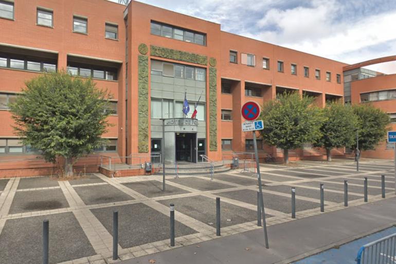 Le commissariat central de Toulouse