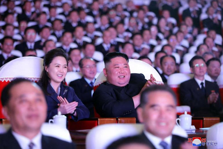 Kim Jong-Un et sa femme Ri Sol Ju