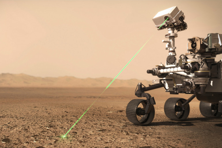 Perseverance va collecter des échantillons de roches sédimentaires sur Mars qui seront ramenés sur Terre dans la prochaine décennie