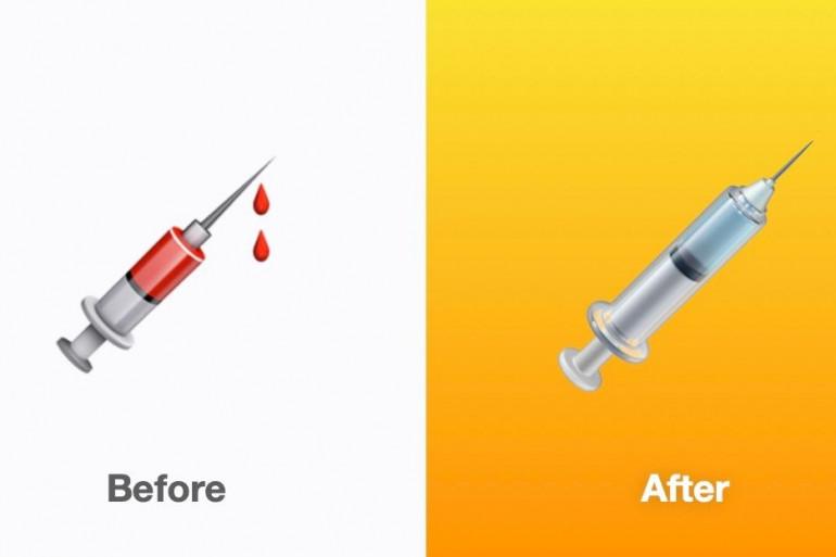 L'émoji seringue, initialement associé à une prise de sang, va se transformer en vaccin dans la prochaine mise à jour d'Apple.