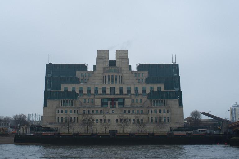 Les locaux de MI6 à Londres (illustration).