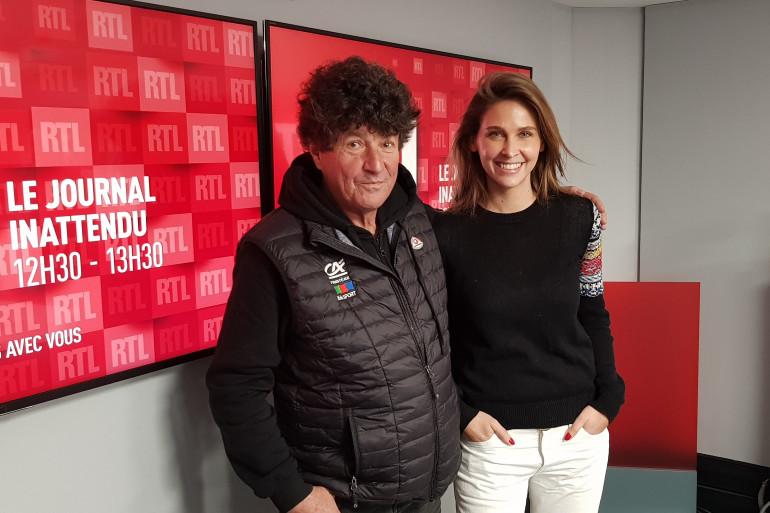 Jean Le Cam et Ophélie Meunier