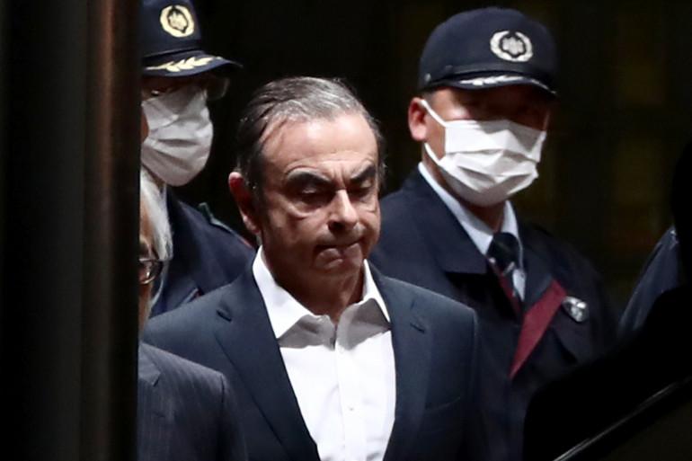 Carlos Ghosn, libéré sous caution au Japon, en avril 2019 (illustration)