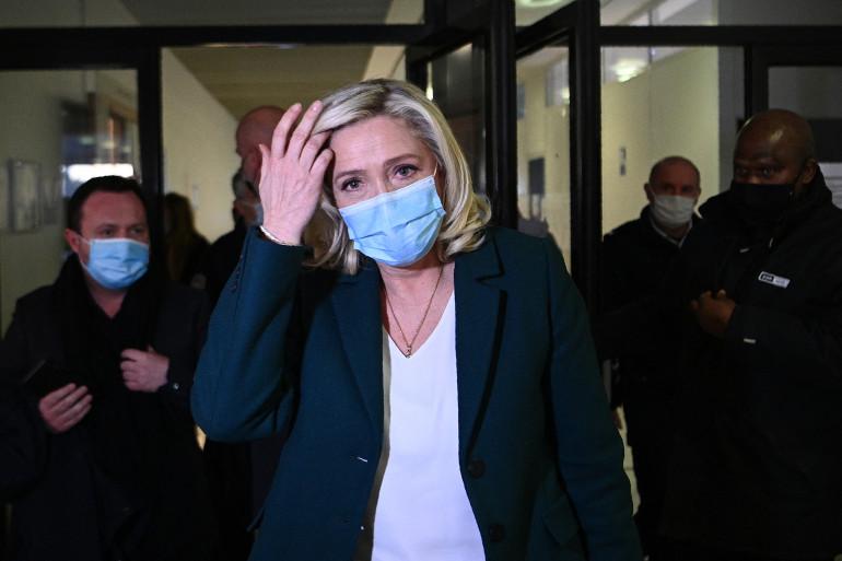 Marine Le Pen, le 10 février 2021