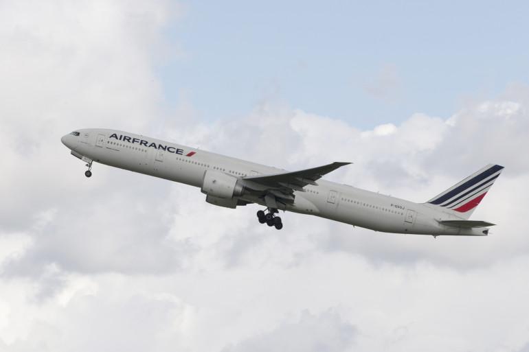 Un Boeing 777 d'Air France (illustration)