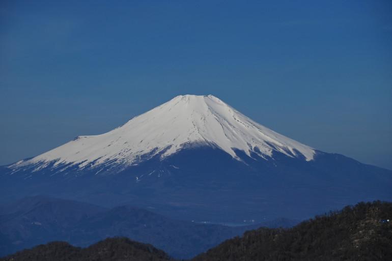 Illustration du Mont Fuji, au Japon