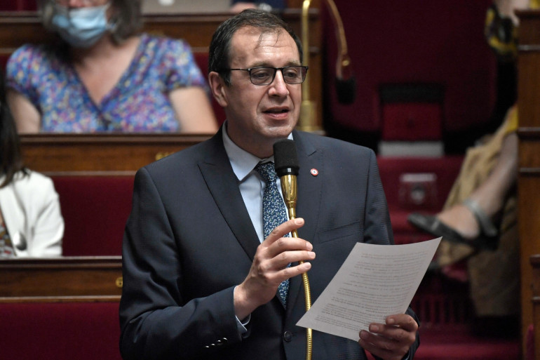 Le député LaREM de l'Indre François Jolivet, auteur de la proposition de loi visant à interdire l'écriture inclusive dans les documents administratifs