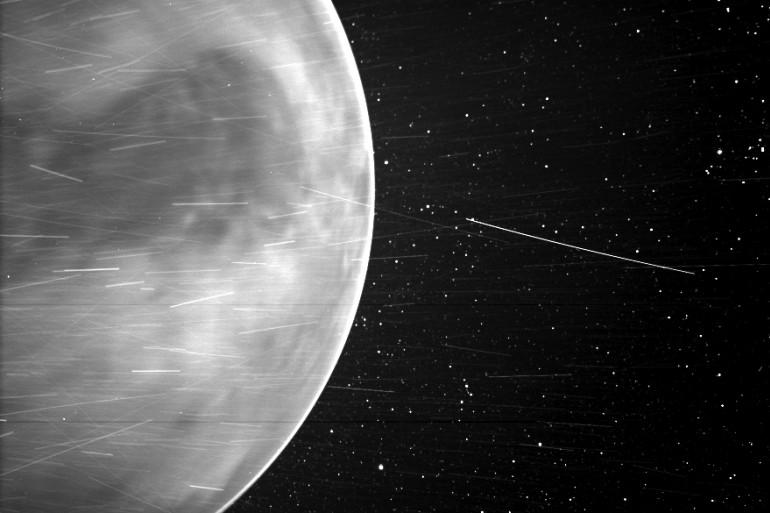 La sonde Parker Solar Probe a capturé une image impressionnante et inédite de la planète.