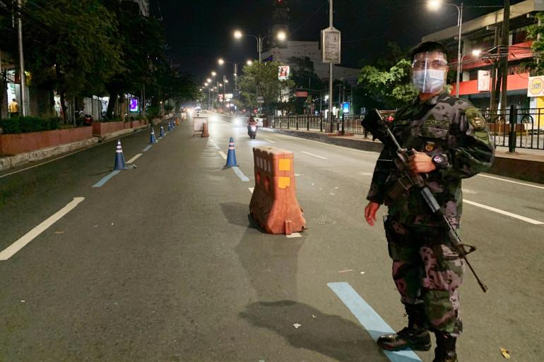 Un policier aux Philippines (illustration)