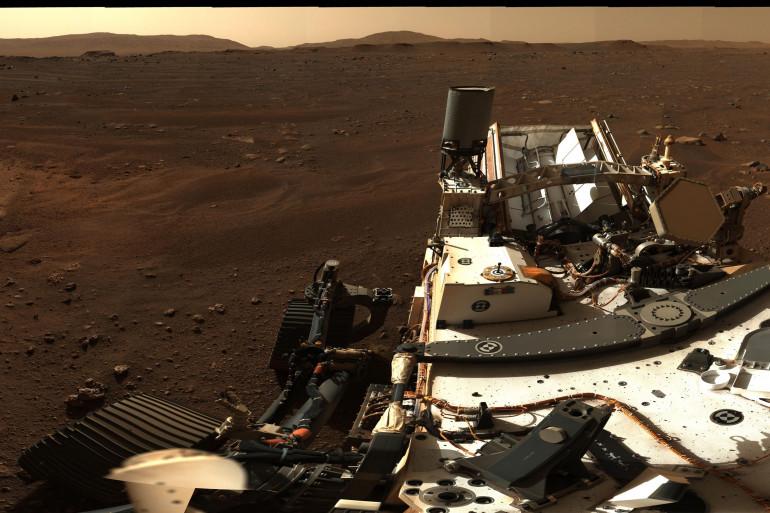 La NASA a publié le 24 février une spectaculaire photo panoramique de Mars prise par Perseverance