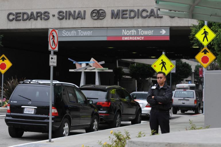 Le prestigieux hôpital Cedars-Sinai de Los Angeles où Tiger Woods a été transféré à la suite de ses opérations aux jambes (illustration)